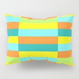 Eccentric Tiles Pillow Sham