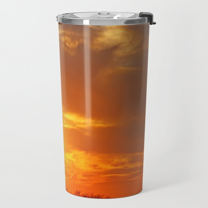 African sunrise Travel Mug
