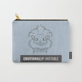 Emutionally Unstable Carry-All Pouch