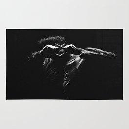The Weeknd Abel Makkonen portrait Rug