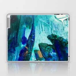 Bright Ocean Spaces, Tiny World Collection Laptop & iPad Skin