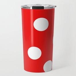 Polka dot Travel Mug
