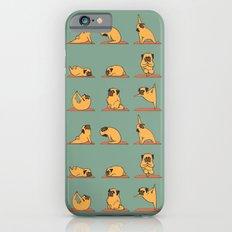 Pug Yoga iPhone 6 Slim Case