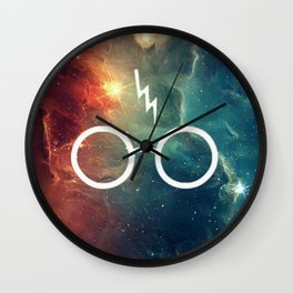 Lightning Scar Nebula HP Wall Clock