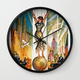 Vintage World's Fair Chicago IL 1933 Wall Clock