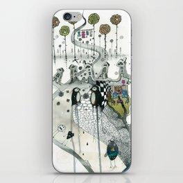 """Penguins"" iPhone Skin"