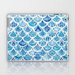 AZTEC MERMAID Tribal Scallop Pattern Laptop & iPad Skin