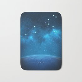 Leo: Astrological Art Bath Mat
