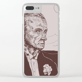 Fred Astaire in Moon Luminance Clear iPhone Case