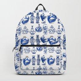Blue Vases Backpack