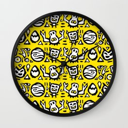 Let's Boogie Wall Clock