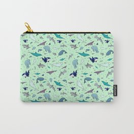 Sea Animals Carry-All Pouch
