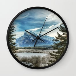 Natural Beauty Wall Clock