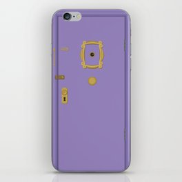 Purple Door - Friends Apartment iPhone Skin