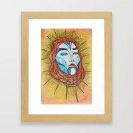 Empress of the Sun Framed Art Print