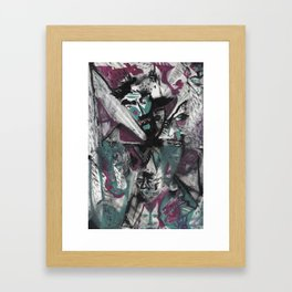 Purple Day Framed Art Print