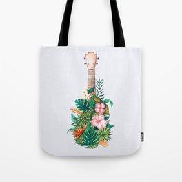 Tropical Ukulele Tote Bag
