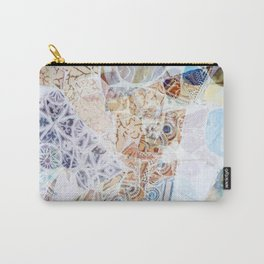 Mosaic of Barcelona IX Carry-All Pouch