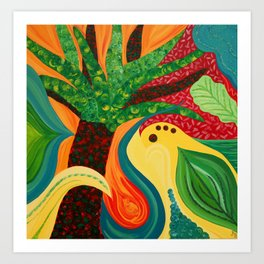 Jungle Dance II Art Print