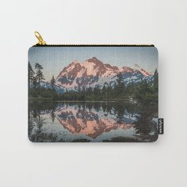 Cascade Sunset - Mt. Shuksan - Nature Photography Carry-All Pouch