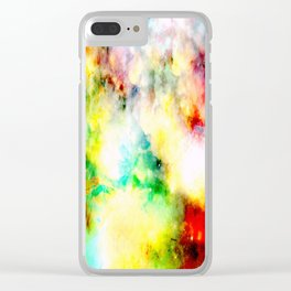 Fume Color Splash 01 Clear iPhone Case