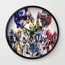 The Autobot Crew Wall Clock