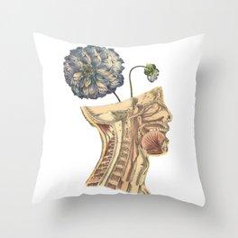 A Growing Mind Throw Pillow