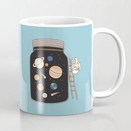confined space Kaffeebecher