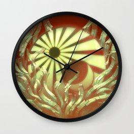 Becoming Seraphim Wall Clock