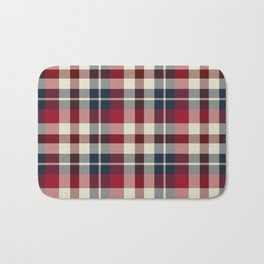 Holiday Plaid 25 Bath Mat