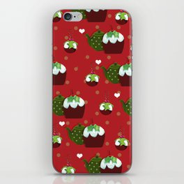 The Christmas Pudding Collection  iPhone Skin