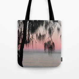 The Sunrise Weeping Tree Tote Bag