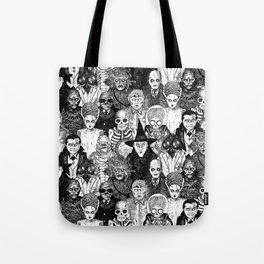 Horror Film Monsters Tote Bag