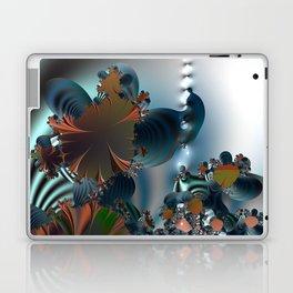 Follow me! -- Creatures in a fractal landscape Laptop & iPad Skin