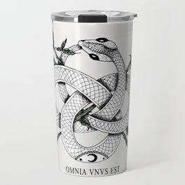 Omnia vnvs est Travel Mug