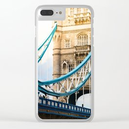 Rendezvous At Tower Bridge Clear iPhone Case