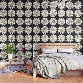 Daisy pattern Wallpaper