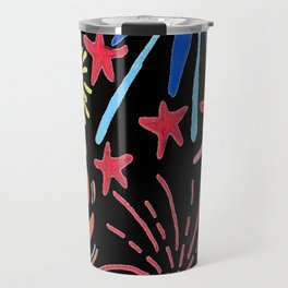 let's go see fireworks Travel Mug