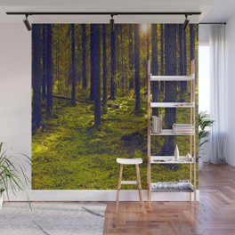 Green Forest #decor #society6 Wall Mural