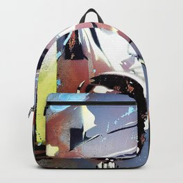 Tom Petty. legend. painting. print. Backpack