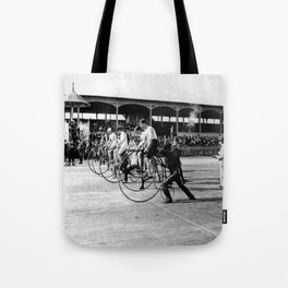 Bicycle race Tote Bag