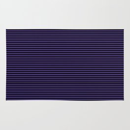 Gothic purple stripes Rug