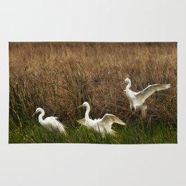 Egret Landing Rug