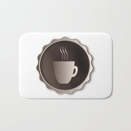 Coffee Sign Bath Mat