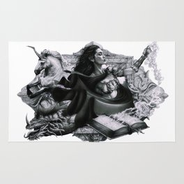 Swords, Beasts and Witches Rug