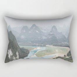 Xingping, China IV Rectangular Pillow