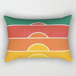 No regrets Rectangular Pillow