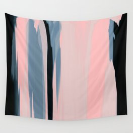 Soft Determination Peach Wall Tapestry