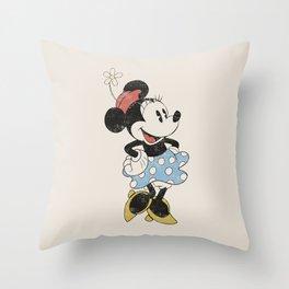 Minnie Mouse Throw Pillow