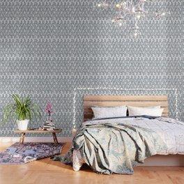 Botanical Marble Wallpaper